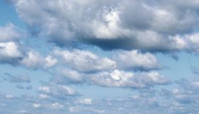Clouds on the sky Stock Image