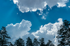 Clouds and sky for text. Beautiful celestial landscape with clouds where you can enter text Stock Photo