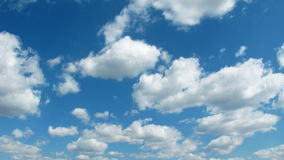 Clouds and Sky Time Lapse stock footage