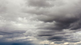 Clouds in the sky. Time Lapse stock footage
