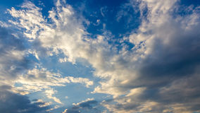 Clouds and sky timelapse stock video