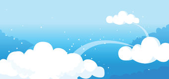 Clouds in the sky Royalty Free Stock Photos
