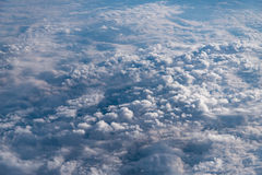 Clouds in the sky. Royalty Free Stock Photo