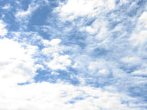 The clouds in the sky. White clouds in the blue sky. Sky with clouds Royalty Free Stock Image