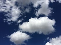 Clouds on the sky Stock Photos