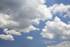 Clouds on skyClouds on sky Stock Photography