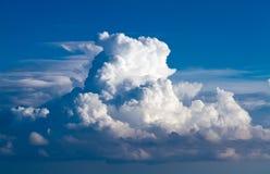 clouds skyen Royaltyfri Foto