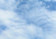 clouds skyen Royaltyfri Fotografi