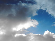clouds skyen Royaltyfria Foton