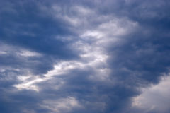 Clouds. Skyscape Stock Photo