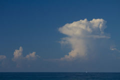 Clouds. In The Sly Floating stock image