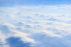 Clouds and smoke horizontal Royalty Free Stock Photography