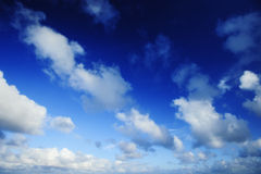 clouds snabbt Arkivfoto
