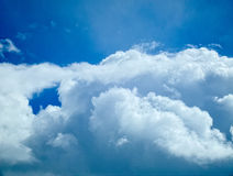 Sky. Clouds during a snow storm Royalty Free Stock Photo