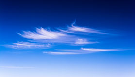 Clouds. Spring clouds on the sky Royalty Free Stock Photography