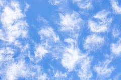 Clouds, spring sky. Stock Photo