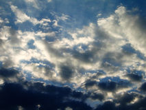 Clouds after storm Stock Photography