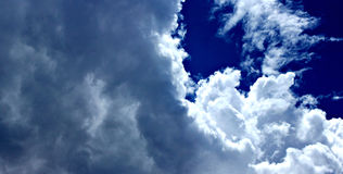Clouds before the storm royalty free stock image