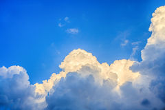 Clouds before storm Royalty Free Stock Photo