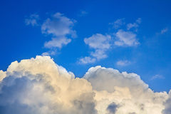 Clouds before storm Royalty Free Stock Images