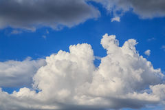 Clouds before storm Royalty Free Stock Photography