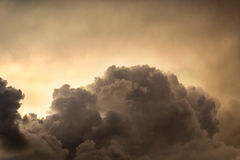 Clouds before storm. Cloudy sky before storm. Summer day before the storm Stock Image
