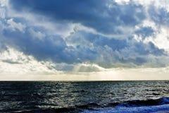 clouds stormigt Arkivbild