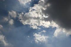 clouds stormigt Royaltyfria Bilder