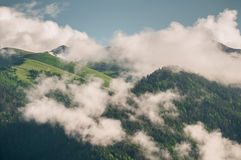 clouds stort Arkivfoto