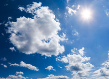 Clouds and Sun Stock Images