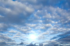 Clouds and sun Stock Image