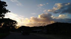 Clouds sun nubes viajes paraíso stock images