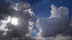 Clouds and Sun! Stock Photo