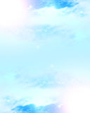 Clouds with sunlight Stock Images