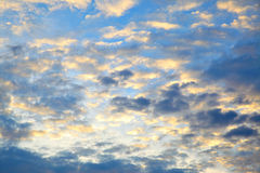 Clouds before sunrise Stock Photography