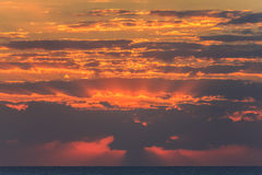 Clouds at sunrise Royalty Free Stock Photos