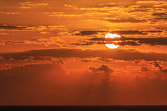 Clouds at sunrise Royalty Free Stock Photography