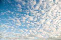 Clouds on sunset Royalty Free Stock Images