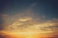Free Clouds Sunset Vintage With Texture Stock Photos - 52490983