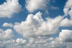 clouds with sunshine and blue sky Royalty Free Stock Image