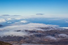 Clouds of Tenerife Stock Photos