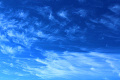 Clouds texture Royalty Free Stock Photo