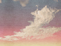 Clouds on a textured royalty free stock images