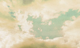Clouds on a textured Royalty Free Stock Photos