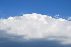 Clouds. Thunderstorm clouds by a canicular day Stock Photos