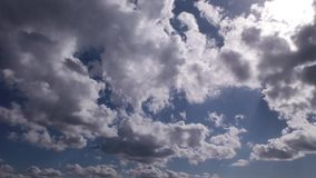Clouds Time lapse stock video