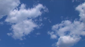 Clouds Time Lapse 03 stock video footage