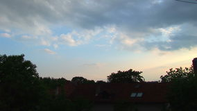 Clouds Time Lapse 05 stock video footage