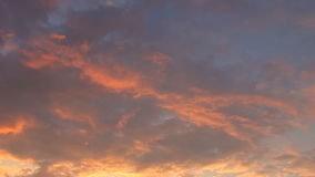Clouds Time Lapse 04 stock footage