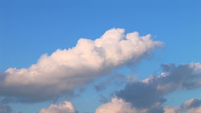 Clouds Time Lapse 07 stock footage